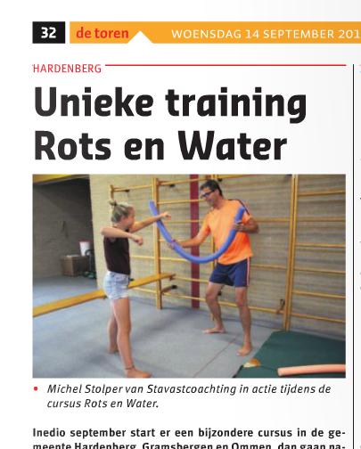 stavast coaching rots en water weekblad de toren hardenberg